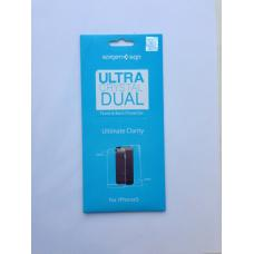 Защитная плёнка SGP Ultra Crystal Dual Ultimate Clarity для iPhone 5/5с/5s